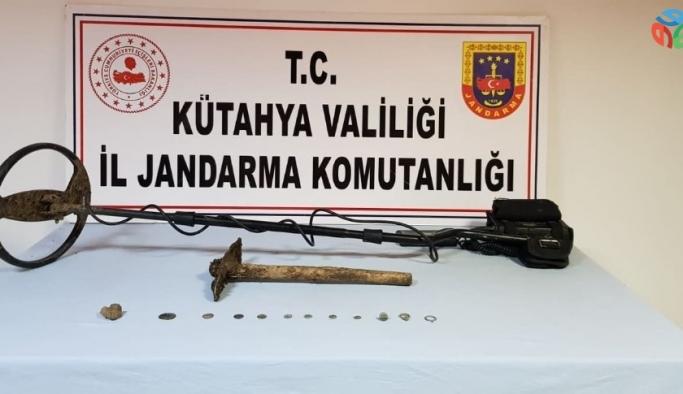 Emet'te define avcıları suçüstü yakalandı: 3 gözaltı