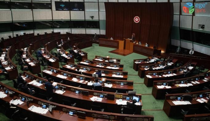 Hong Kong'da ulusal marş yasası görüşülmeye devam edilecek