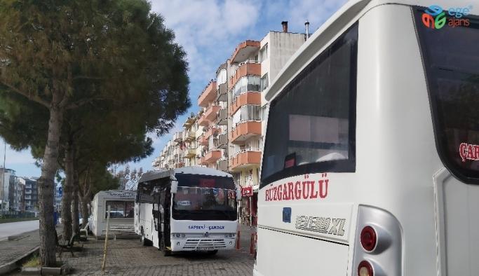 Lapseki'de ticari yolcu taşımacılığı yeniden başladı