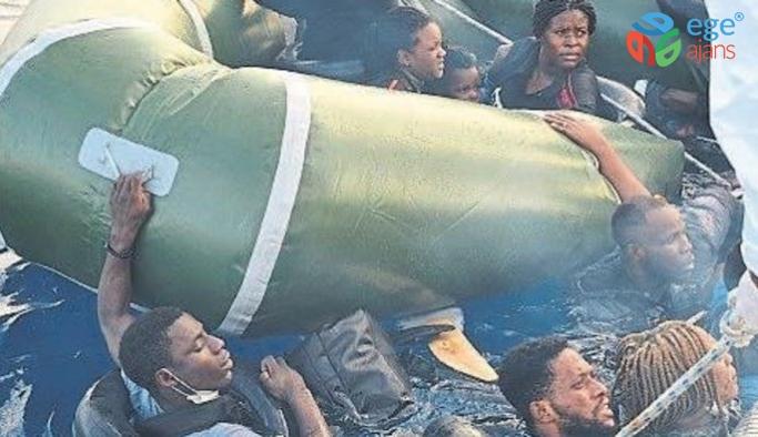 Bitmeyen insanlık dramı: İzmir'de 65 kaçak göçmen kurtarıldı!