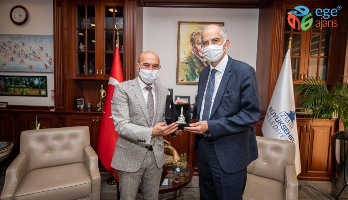 Başkan Soyer, Fransa'nın Ankara Büyükelçi ile buluştu