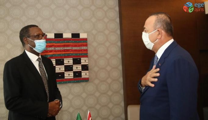 Çavuşoğlu, Afrika Birliği Mali Yüksek Temsilcisi Buyoya ile görüştü