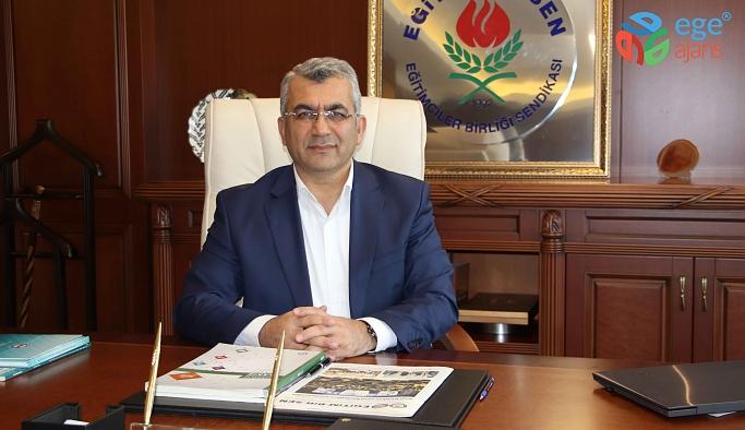 Eğitim-Bir-Sen İzmir Şube Başkanı Ali Kaya: Somut adımlar atılmalıdır