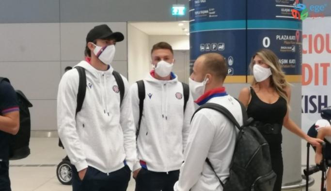 Hajduk Split, İstanbul'a geldi