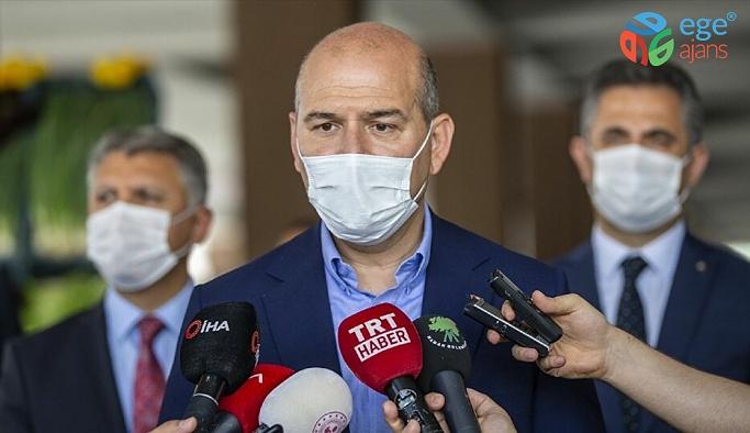 """İçişleri Bakanı Süleyman Soylu: """"2016'nın son çeyreğinden bu yana kadar 768 kişi terör örgütünden ikna edilerek dağdan indirilmiş ve adalete teslim edilmiştir"""""""