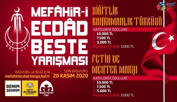 Konya Büyükşehir'den Mefahir-i Ecdad Beste Yarışması
