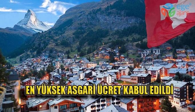 O ÜLKEDE EN YÜKSEK ASGARİ ÜCRET KABUL EDİLDİ!