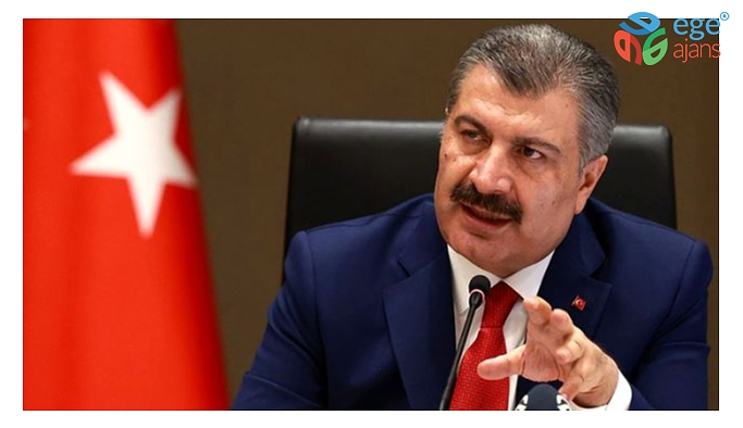 Sağlık Bakanı Dr. Fahrettin Koca İzmir'de