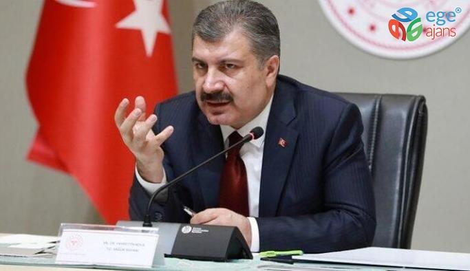 """Sağlık Bakanı Koca: """"Korona virüs salgını sonu yaklaşan bir salgındır. Bunun heyecan verici açıklamasını birazdan yapacağım."""""""