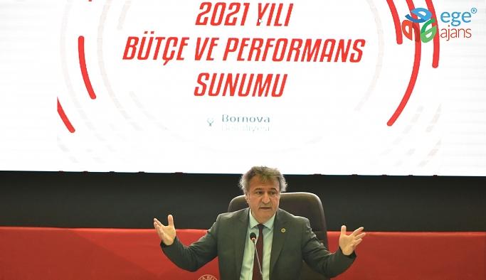 Bornova'da 2021 yılı bütçesi 463 Milyon