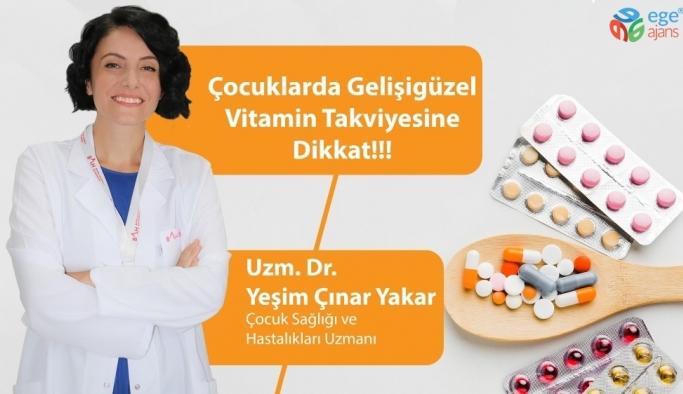 Çocuklarda gelişigüzel vitamin takviyesine dikkat