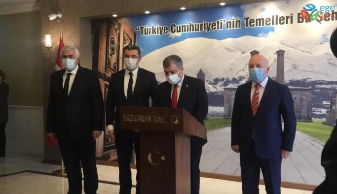 Sağlık Bakanı Koca Erzurum'da