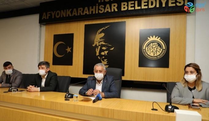 Başkan Zeybek'ten mahalle muhtarlarına korona virüs uyarısı!