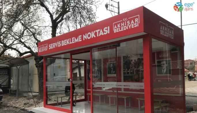 Akhisar Belediyesi kapalı işçi durak sayısını 5'e çıkarttı