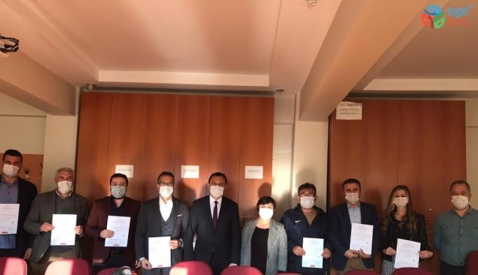 Alaşehir'de 25 okula 'Okulumuz temiz' belgesi