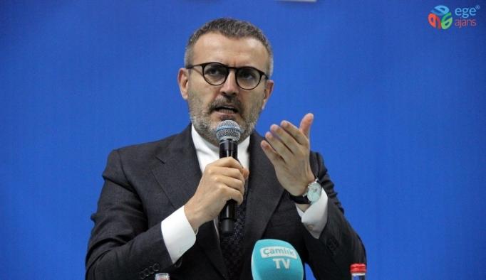 """AK Parti Genel Başkan Yardımcısı Ünal: """"Türkiye'nin enerjisini tüketmek isteyenler anti siyaset yapıyor"""""""