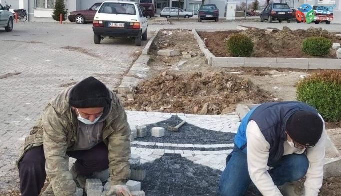 Emet Belediyesi'nde  çevre düzenleme çalışmaları