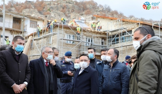 Frig eserlerinin bulunduğu köyde 148 ev yenilenecek