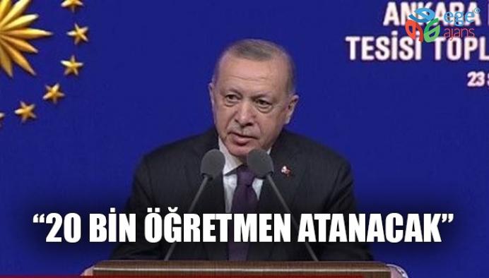 """""""20 BİN ÖĞRETMEN ATANACAK"""""""