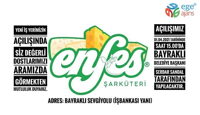 "BAYRAKLI'DA ""ENFES"" LEZZET DURAĞI"