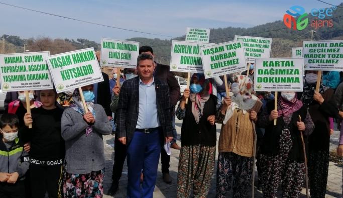 KARTAL DAĞI KORUMA PLATFORMUNA CHP TİRE'DEN DESTEK