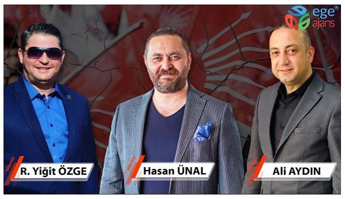 MENEMEN CHP'DE BEKLENEN İSTİFALAR GELDİ
