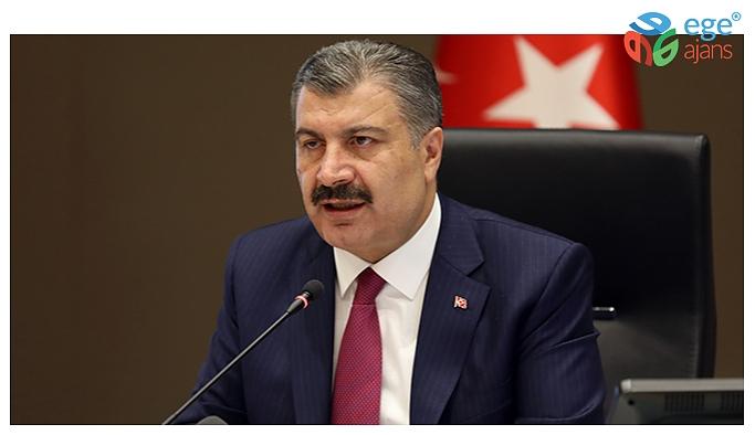 """BAKAN KOCA: """"YANLIŞ GRAFİK PAYLAŞILMIŞ"""""""