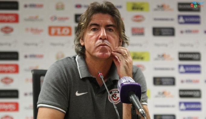 """Ricardo Sa Pinto: """"Her şeyi yaptık ama golü bulamadık"""""""