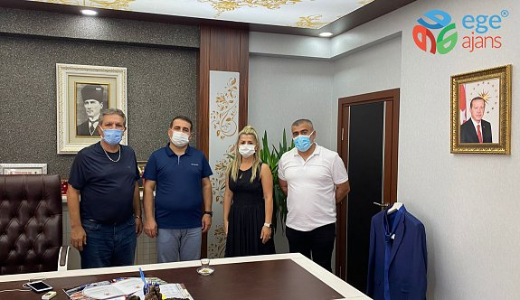 ASY Yemek'ten Torbalı Kaymakamı Ercan Öter'e Ziyaret