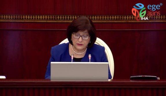 """Azerbaycan Meclis Başkanı Gafarova: """"Azerbaycan ve Türkiye arasındaki dostluk ve kardeşlik ilişkileri bizim en büyük zenginliğimizdir"""""""