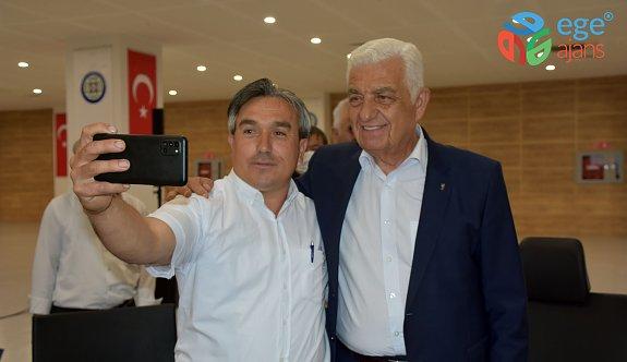 MUSKİ Genel Müdürü Ülgen, Milaslı Muhtarlarla Görüştü