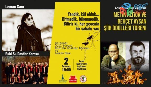 Sivas Katliamı'nın 28. yıldönümünde iki şairin izinde