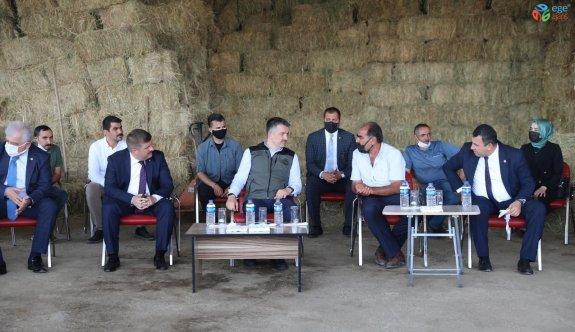 Tarım ve Orman Bakanı Pakdemirli'den yem fiyatlarına ilişkin açıklama