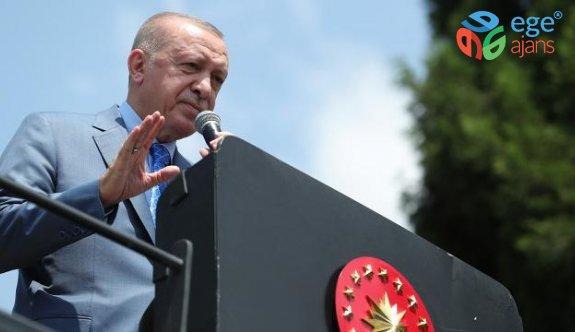 Cumhurbaşkanı Erdoğan: Tank palet fabrikası devletin malıdır