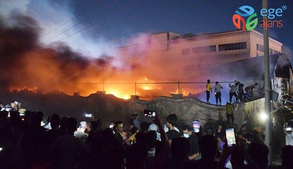 Irak'ta yangın faciası! En az 50 kişi hayatını kaybetti