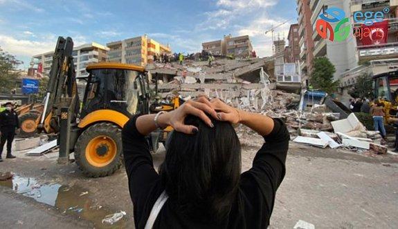 İzmir depremzedelerinden basın açıklaması
