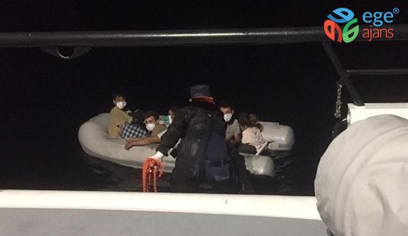İzmir ve Aydın'da Türk kara sularına itilen 76 sığınmacı kurtarıldı