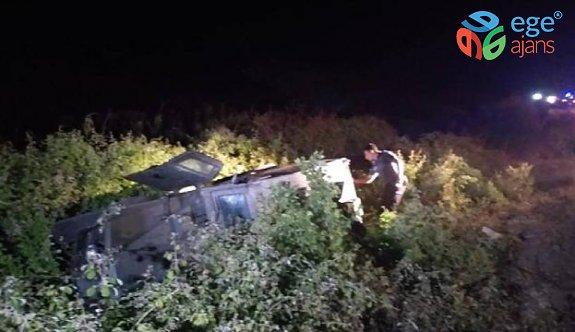 Sivas'ta askeri araç devrildi: 3 yaralı