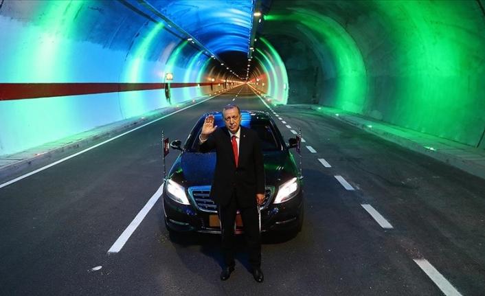 19 yılda 567 kilometre uzunluğunda 364 tüneli hizmete açtık