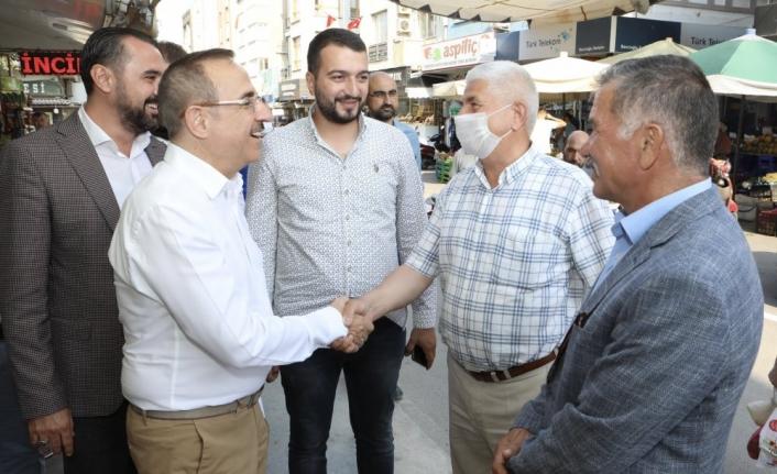 AK Partili Sürekli'den Tire çıkarması: İzmir'in sorunlarını çözmeye devam ediyoruz