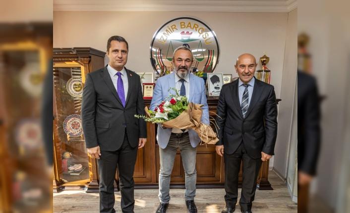 Başkan Soyer ve Yücel'den İzmir Barosu'na ziyaret