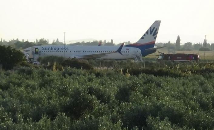 Berlin-İzmir uçağı acil iniş yaptı