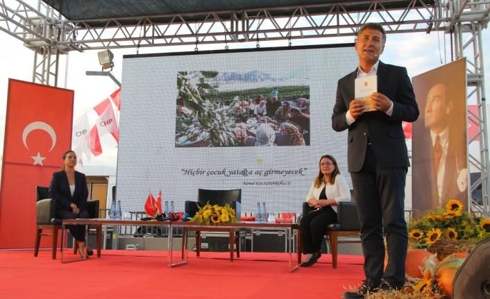 CHP, Tarım Politikasını Selçuk'tan duyurdu: Birlikte üretip hakça bölüşeceğiz