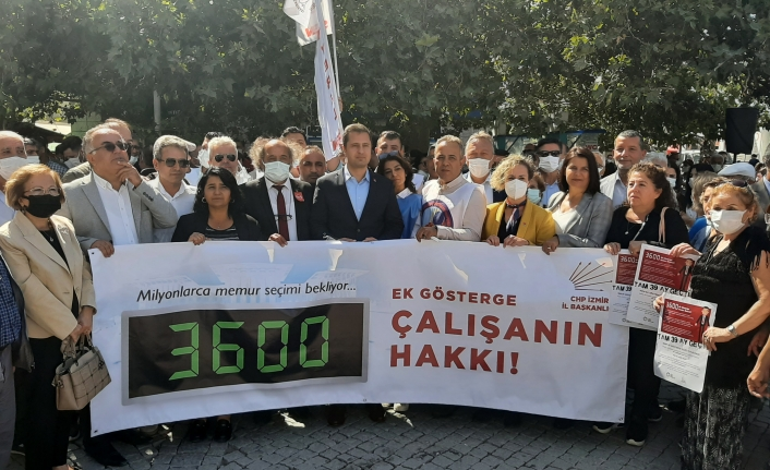 CHP'li Yücel'den iktidara '3600 ek gösterge' çıkışı: 5'li çete memurlarımızdan daha mı büyük?