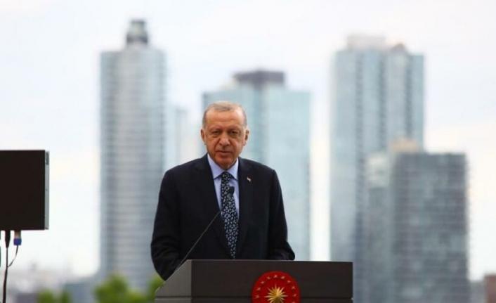 Erdoğan, New York'ta Türkevi'ni açtı