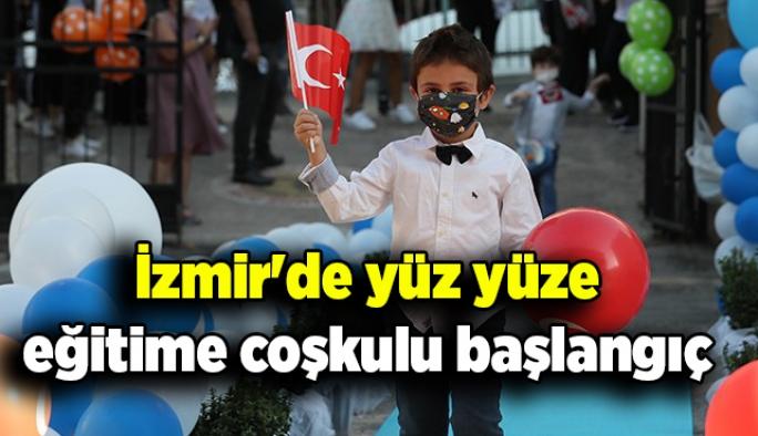 İzmir'de yüz yüze eğitime coşkulu başlangıç
