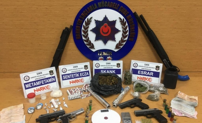 İzmir'de uyuşturucu operasyonu: 1 gözaltı