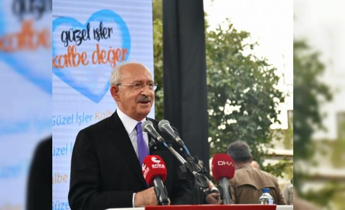 Kılıçdaroğlu'ndan Başkan Batur'a övgü: Sizi yürekten kutluyorum
