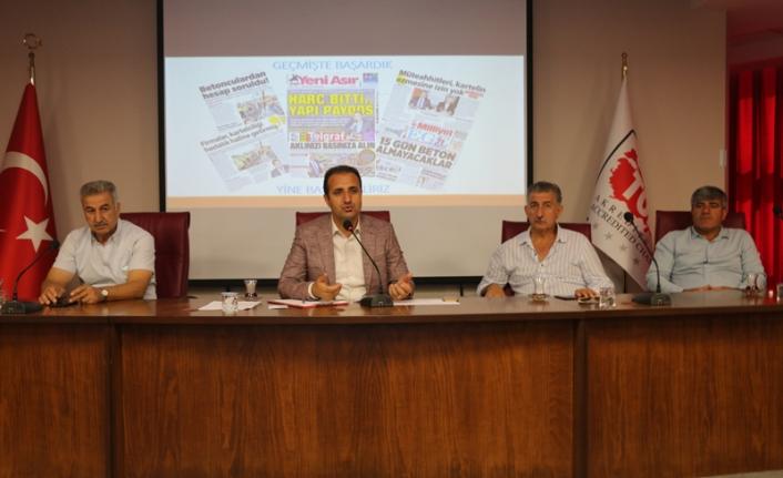 TTO Başkanı açıkladı: İnşaatlar 15 gün boyunca durdurulacak!