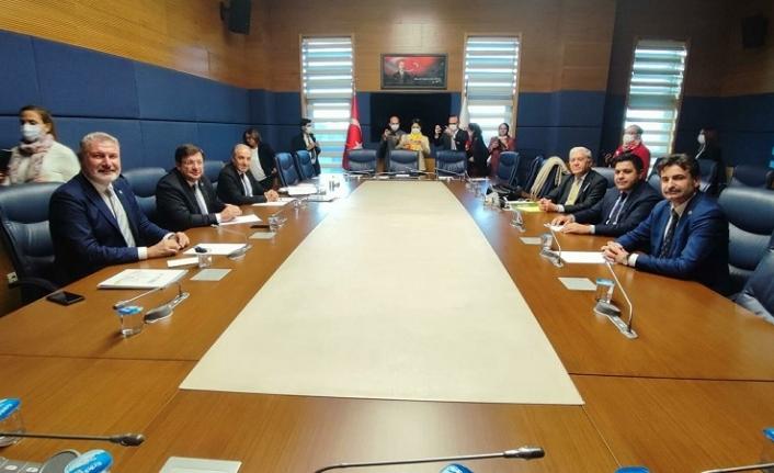 6 partiden 'Güçlendirilmiş Parlamenter Sistem' toplantısı